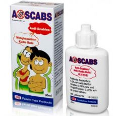 Ascabs Permethrin Lotion For Scabies 30 ml