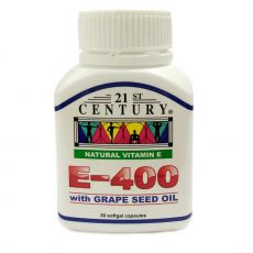 21st Century Vitamin E400 with Grape Seed (30s)