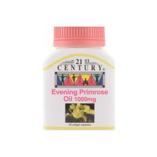 21ST CENTURY EVENING PRIMROSE OIL 1000 mg (EPO) 60's