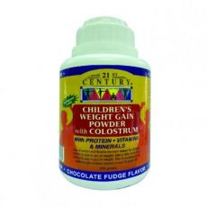 21st Century Children's Weight Gain Powder with Colostrum - Chocolate (250g)