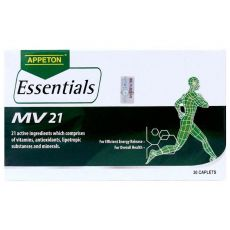 Appeton Essentials Multivitamin 21 Tab 30's